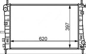 Ford Mondeo III 2.0 DI / TDDi / TDCi 2.2 TDCi vízhűtő