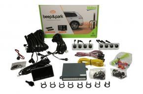 Valeo Beep & Park LCD kijelzővel 8 radaros