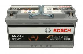 Bosch S5 AGM 95Ah 850A Jobb+ 0092S5A130 Akkumulátor