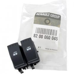 Renault Clio II ablakemelő kapcsoló