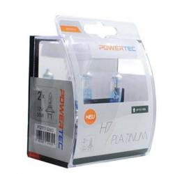 PowerTec Platinum 130% emeltfényű H7 izzó pár