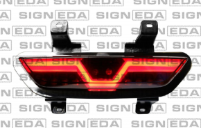 Ford Mustang 2018-tól hátsó ködzáró lámpa LED / fekete