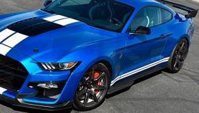 Ford Mustang 2018-tól küszöb készlet GT500 Style
