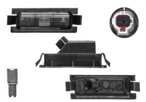 Kia Pro Ceed 2006-2012 bal rendszámtábla világítás