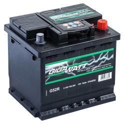 Bosch Gigawatt 52 Ah akkumulátor