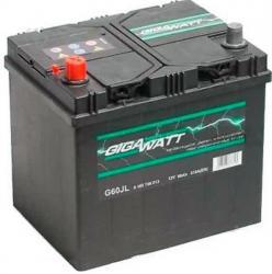 Bosch Gigawatt 60 Ah akkumulátor, ázsiai modellekhez