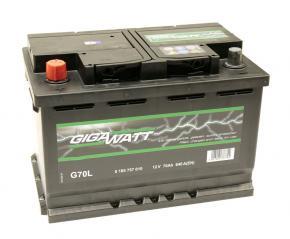 Bosch Gigawatt 70 Ah akkumulátor, ázsiai típusokhoz
