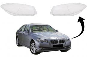 BMW 5 F10 / F11 Bal fényszóró búra