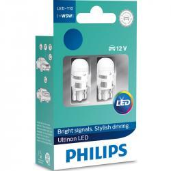 Philips Ultinon LED 360° W5W 4000K 2 darabos készlet