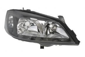 Opel Astra G fényszóró jobb oldal fekete belső
