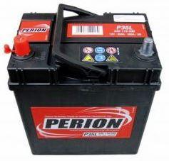 Perion 35Ah Bal + Akkumulátor 187x127x227 Japán/Korea