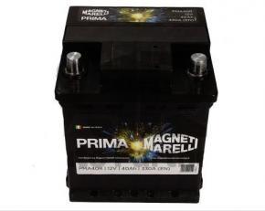 Magneti Marelli 40Ah Jobb + Akkumulátor 175x175x190 Európai
