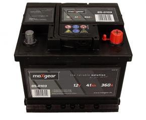 Maxgear 41Ah Jobb+ akkumulátor 207x175x175 Európai